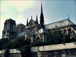 Notre Dame by MRWOLOPHOTO
