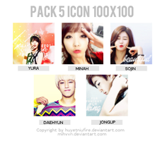 [MiHVVN 's Request] Pack 5 Icon 100x100 by huyetniufire