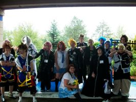KH Group At Portcon 2011 by RoseRiku