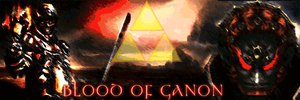 Blood Of Ganon - Animated Signature request by FireyRedPhoenix