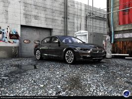 BMW 3 F 30 out from my Garage by Artsoni3D