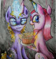 You wanna join to our party? by Agussska