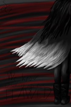 We Know Our Wings Are Flawed by Sylviejean