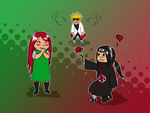 Itachi x Kushina by yazoo-s