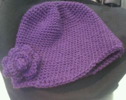 Beanie With Flower by DistantVisions
