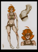 Claudia Ref by andava