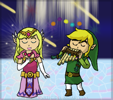 Link and Zelda Duet SPOILERS by LoZeldaFANATIC