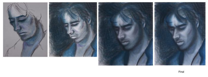Jeff Buckley Portrait Stages by vindicatedmess