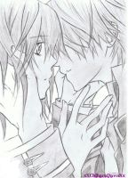 Vampire Knight: Yuki to Zero Sketch by xXChiharuDawnXx