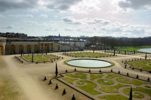 Park in Chateau de Versailles by shulgasergey