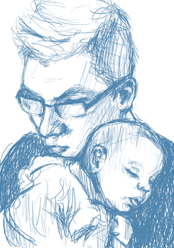 Father and son. by fieldmouse