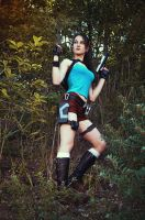 Cosplay Lara Croft and the Temple of Osiris by LiSaCroft