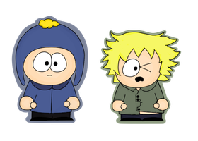 Craig and Tweek by Meeebles