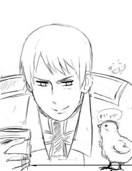 Prussia Sketch by TRLucky