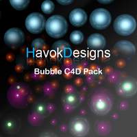 Bubble c4d pack by DoyIe-Gfx