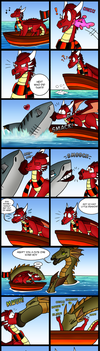 Come sail away! by Thornacious