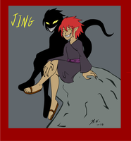 XS OC Jing Young by The-Clockwork-Crow