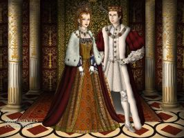 AU Coronation of Elizabeth and Charles by TFfan234
