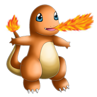 Pokedex 004: Charmander- Ember by izka197