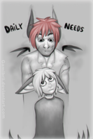 Daily Needs Cover by Gamibrii