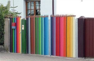 OMG LOOK AT THE PENCIL FENCE by DAWG33