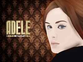 ADELE vector ART by CoolDes