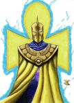 Doctor Fate redesign - color by BigRobot