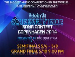Equestrivision Song Contest 2014 (Eurovision) by j4lambert