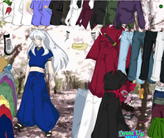Dress Up Inuyasha - Dressup24h.com by willbeyou