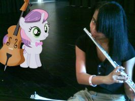 Sweetie Bell in Music Class by Paris7500