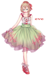 UTAU Newcomer - eve by april4luck