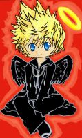 Roxas-Dark winged by HAPPLES-XD