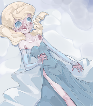 The cold never bothered her.. by MantaTheMisukitty