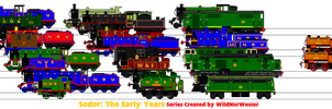 Sodor: The Early Years Poster S1-5 by MarzipanHomestar66