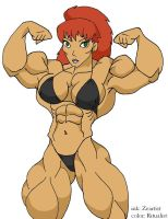 Kiva the bodybuilder 3 by Ritualist