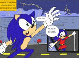A Page of the Coming Comic by SonicaSpeed