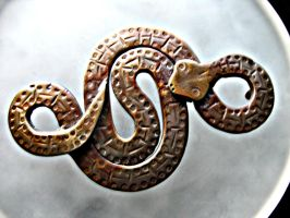 Snake Belt Buckle by ou8nrtist2