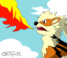 Arcanine by Gtapia91