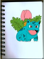 Ivysaur from Pokemon by sakurachan456