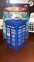 3D tardis 2nd Version by Ravenfox-Beadsprites