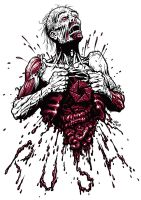 Zombie's Heart by StraightEdge1977
