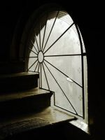 The sun on the stairs by tomaplaw