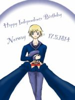 APH-Norway Happy Independence Birthday 17.5.1814 by xXJustForFunXx