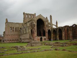 Melrose Abbey Scotland 001 by presterjohn1