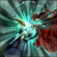Dissidia Aces R2 - Vs Celes by new-world-eve
