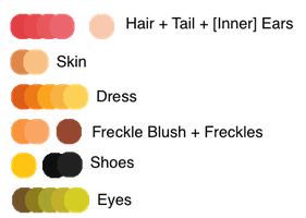 Momo: Colour Pallette by Balance-Song