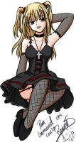 Misa Misa color by Yueni