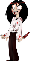 Jeff the Killer by FacelessKiwi