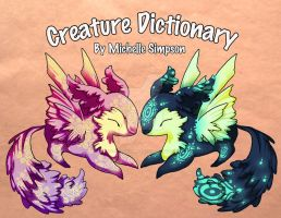 Creature Dictionary by michellescribbles