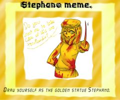 Stephano meme by KittyHunterAssassin